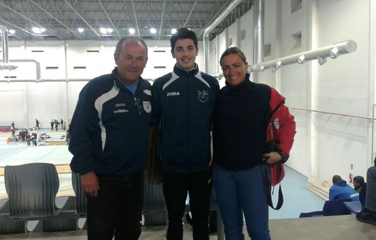 El atleta Mario Silva consigue la mínima para el Campeonato de España