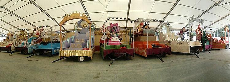Todo listo para recibir la cabalgata de los Reyes Magos, que COPE Utrera (98.1 FM) retransmitirá en directo