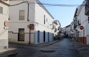 Una de las calles afectadas es Catalina de Perea