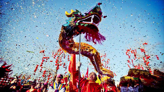 España da paso a la celebración del Año Nuevo chino