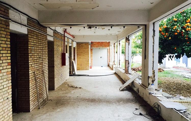 El centro de Educación Permanente continúa con sus obras de adecuación