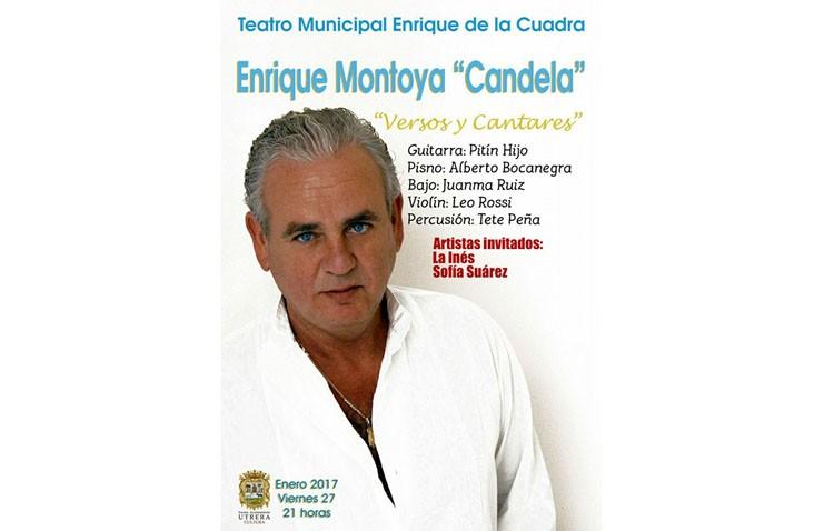 Enrique Montoya «Candela» llega al teatro con un espectáculo de copla flamenca