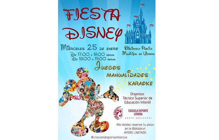 El grupo Dogesport organiza una fiesta Disney en la biblioteca