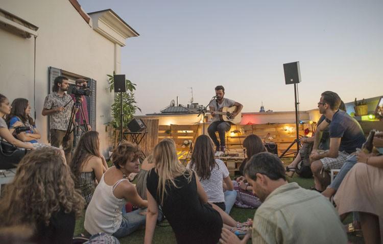 Juan Jesús Gómez, un utrerano que organiza un concierto en tu casa