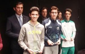 Atletismo Cristobal campeón provincial Júnior