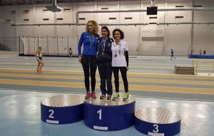 María del Carmen Rodríguez, primera en 3000 metros