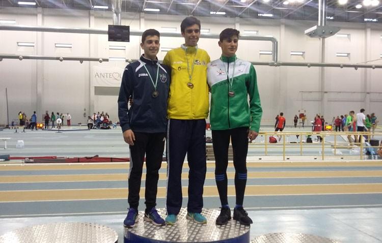 Pódium para el Club Utrerano de Atletismo en el campeonato de Andalucía sub-20 y en el campeonato andaluz de veteranos