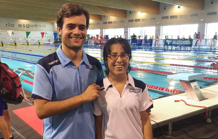 Mercedes Rodríguez, seleccionada para el campeonato de España de natación adaptada