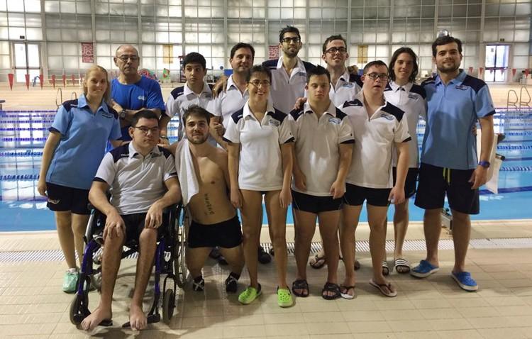 El club nataci n utrera participa en los juegos deportivos for Piscinas imd sevilla