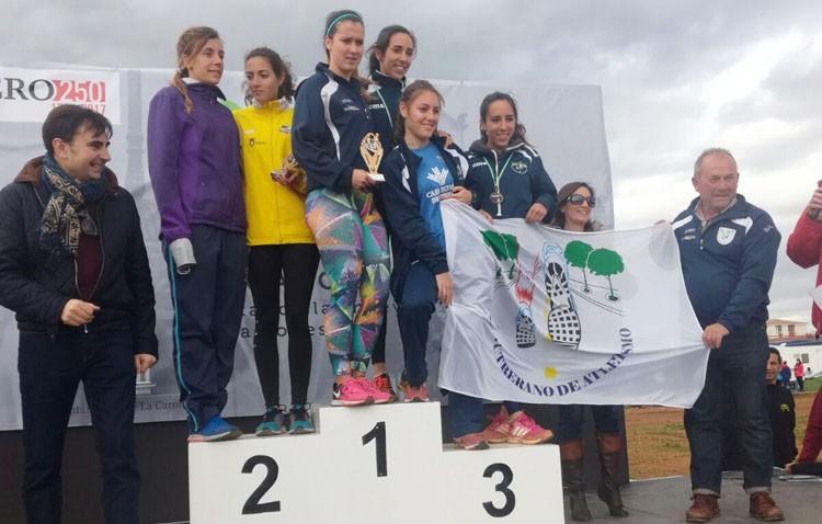 El equipo femenino del Club Utrerano de Atletismo se proclama campeona de Andalucía