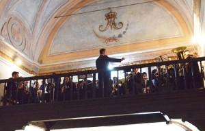 La asociación musical «Álvarez Quintero» intervino en el acto