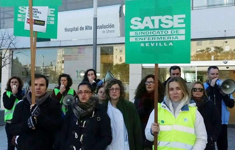El sindicato de enfermería denuncia la «opacidad» en la bolsa de empleo del CHAR de Utrera
