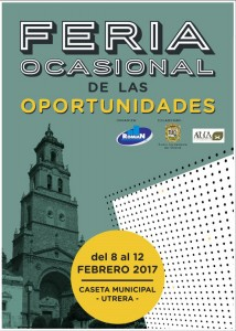 feria ocasional oportunidades 2017 cartel