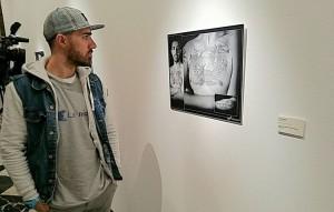 El utrerano, en la exposición de Cádiz