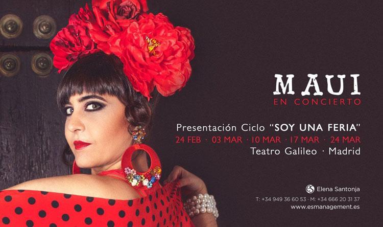 La «feria» de Maui llega a Madrid con artistas como Rosario Flores, Martirio o Fernando Tejero