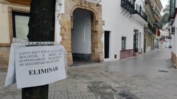 El gobierno local plantea eliminar un naranjo de la calle Álvarez Hazañas para instalar la carrera oficial en la plaza del Altozano