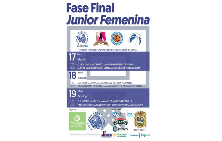 Utrera, sede de la fase final junior femenina de baloncesto