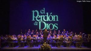 Un instante del recital