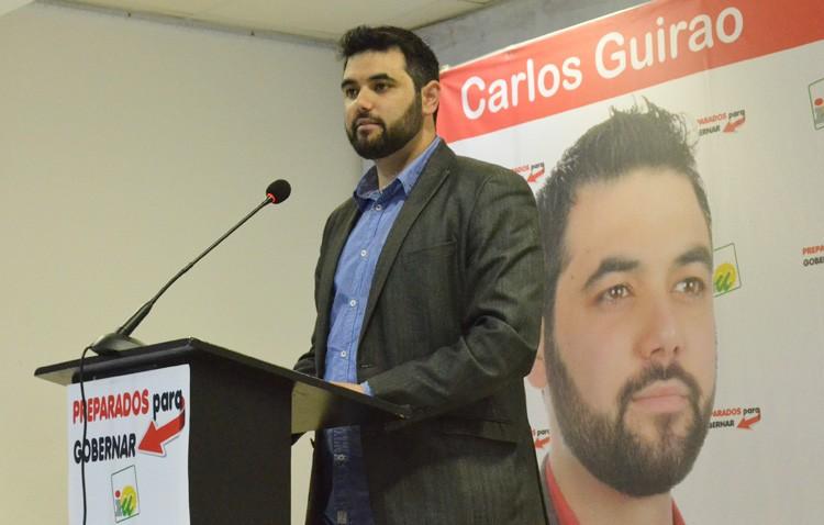 Carlos Guirao dimite como coordinador local de IU porque el partido va camino de «la desaparición y disolución»