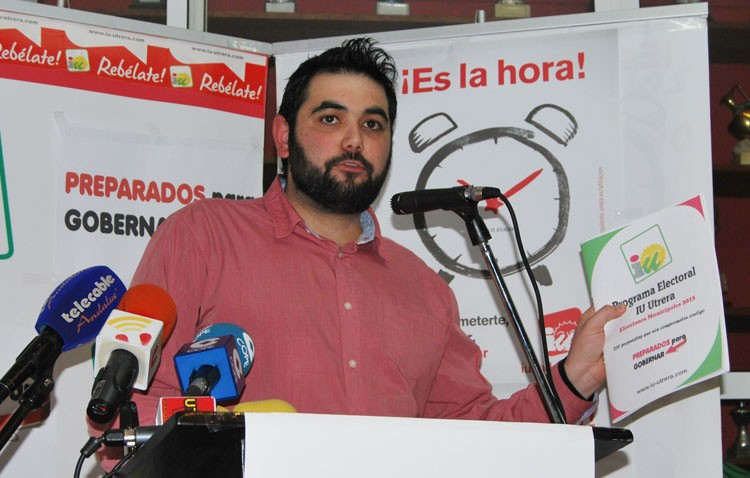 Reclaman a IU de Sevilla y Andalucía que exijan la dimisión de Carlos Guirao como concejal del Ayuntamiento de Utrera