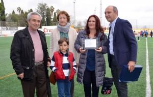 La Asociación Española Contra el Cáncer estuvo muy presente en el partido