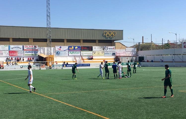 C.D. UTRERA 0 – 2 REAL BETIS B: El San Juan Bosco ya no es un fortín