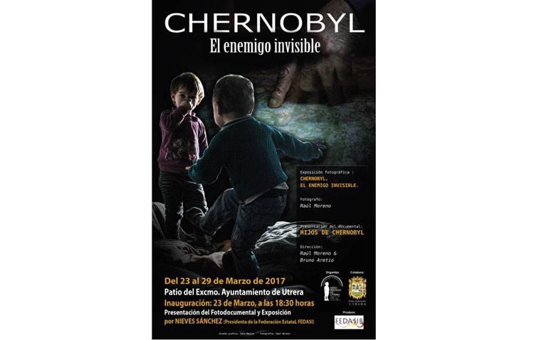 La asociación humanitaria «Niño Perdido de Utrera» organiza una exposición sobre el desastre de Chernobyl