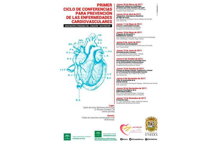 Una conferencia hablará de alimentación cardiosaludable