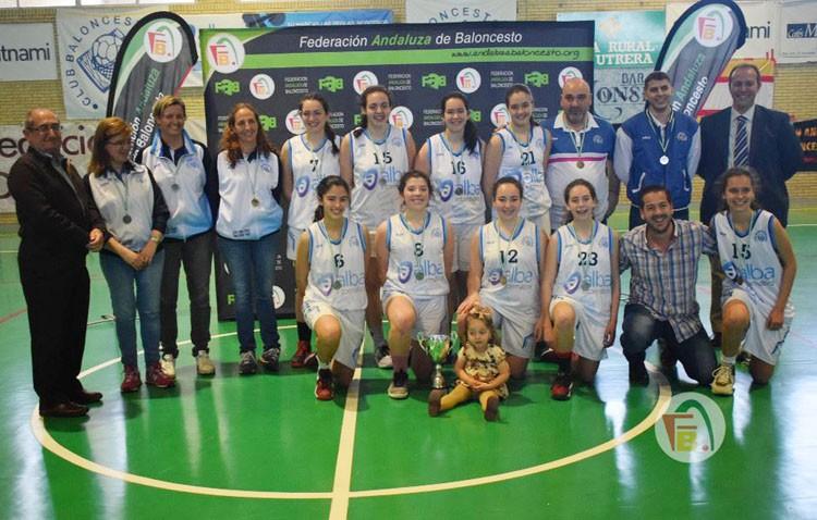 El  equipo junior del C.B. Utrera consigue clasificarse para el Campeonato de Andalucía
