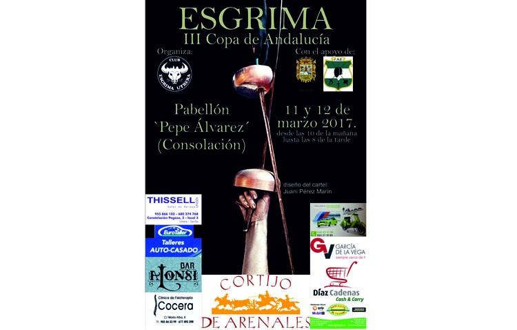 Utrera acoge la III Copa de Esgrima de Andalucía