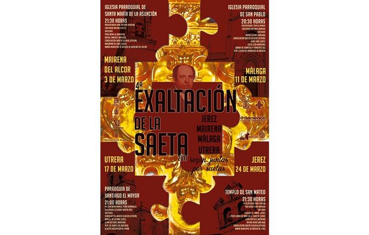 «Exaltación de la saeta» en la parroquia de Santiago