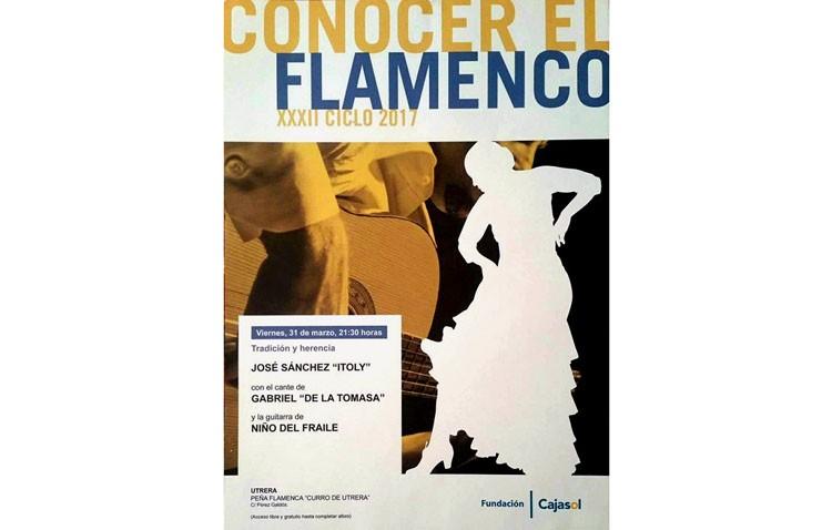 Noche de flamenco en la peña «Curro de Utrera»