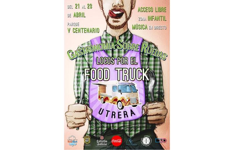 El evento de «food trucks» será finalmente del 21 al 23 de abril