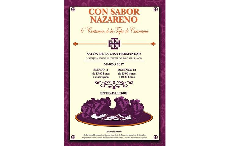 Certamen de la Tapa de Cuaresma en la hermandad de Jesús Nazareno