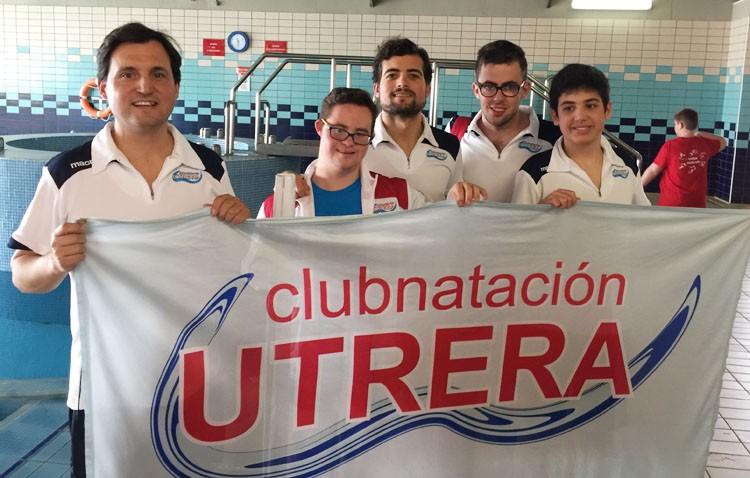Utrera hace historia en el Campeonato de España de Natación Adaptada