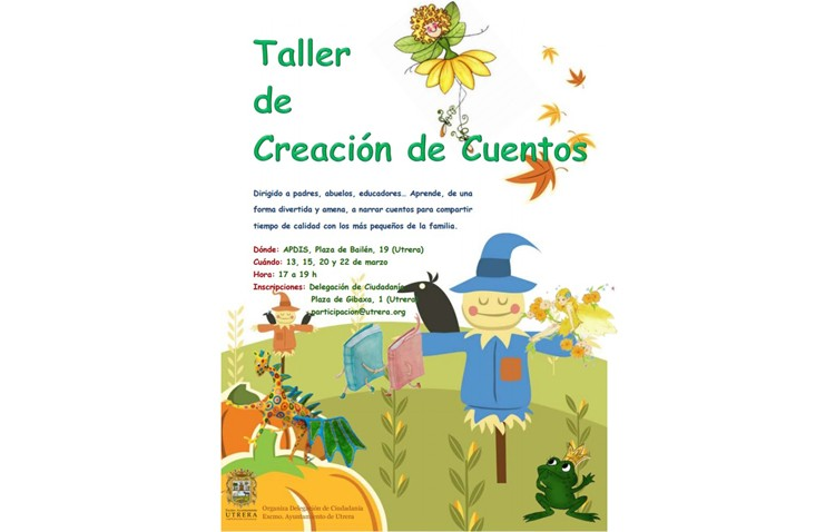 Un taller de fomento de la creación de cuentos infantiles para personas adultas