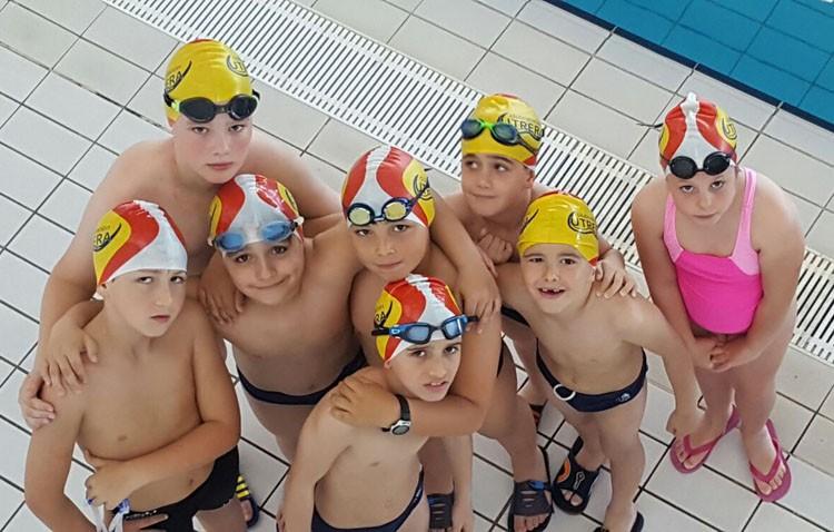 Intensa actividad del Club Natación Utrera en el II Circuito de Invierno y en el II Circuito de natación adaptada