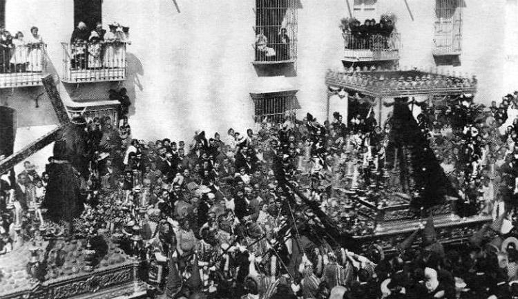 La «agachaíta», una tradición en torno a Jesús Nazareno que Utrera perdió hace un siglo