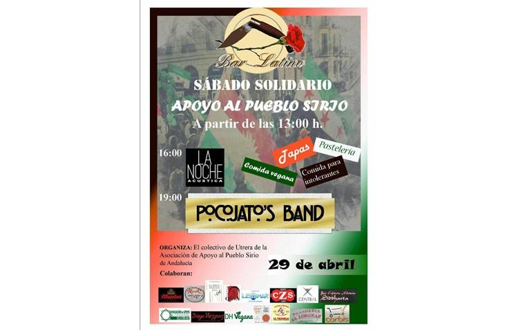 Sábado solidario de apoyo al pueblo sirio en Bar Latino