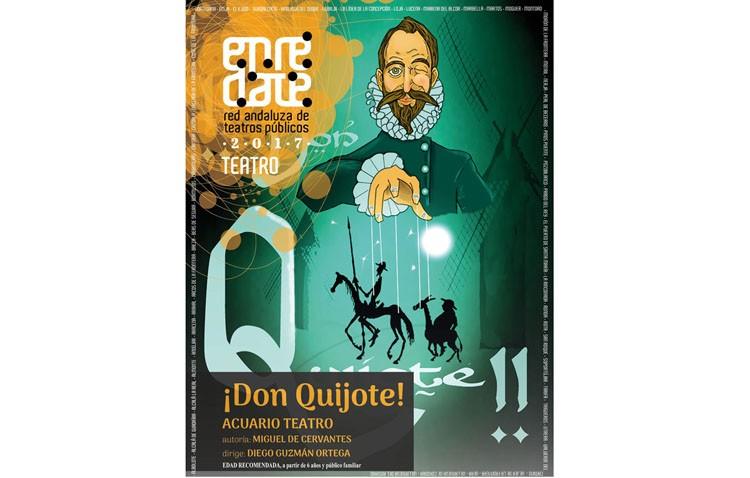 Don Quijote llega al teatro para hacer reír a los más pequeños