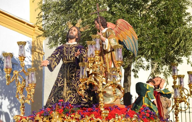 El Arzobispado no autoriza la salida del paso de la Oración en el Huerto el día del Corpus por el centenario de la imagen