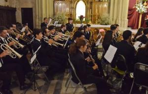 Intervención de la asociación musical «Álvarez Quintero»