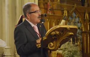 El presentador del pregonero fue Cristóbal García Caro