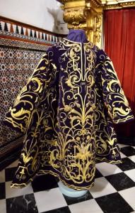 tunica señor orando huerto restauracion (4)