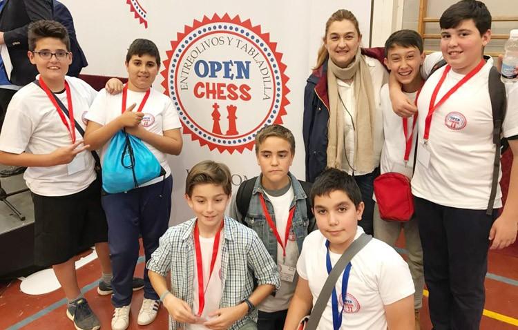 Buenos resultados para el colegio La Fontanilla, representante de Utrera en el «Abierto de Ajedrez» de la provincia