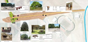 El corredor verde tendrá uno de sus extremos en la «carretera cortada» de Vistalegre