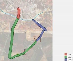 El corredor verde estará al sur de Utrera