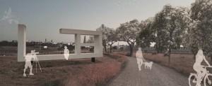 Recreación virtual de uno de los rincones del corredor verde