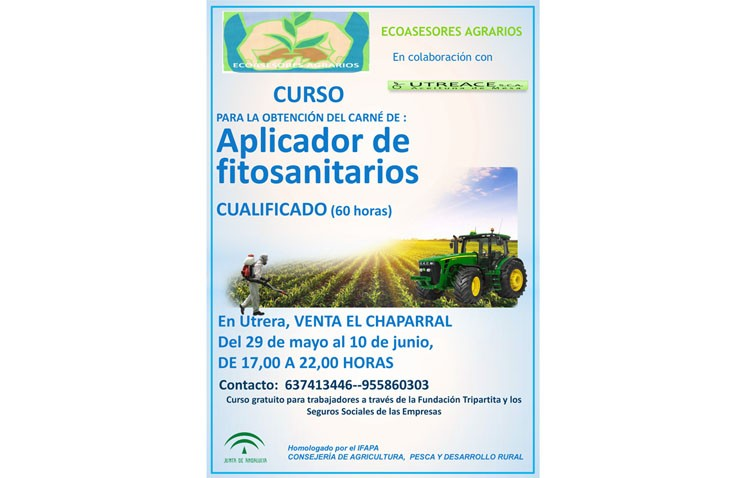 Curso de aplicador de productos fitosanitarios