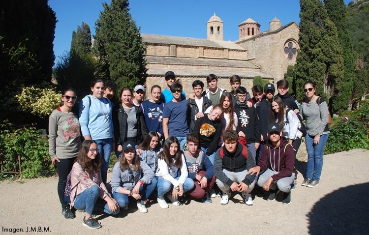 Alumnos bilingües del instituto Virgen de Consolación viajan por el sur de Francia en autobús
